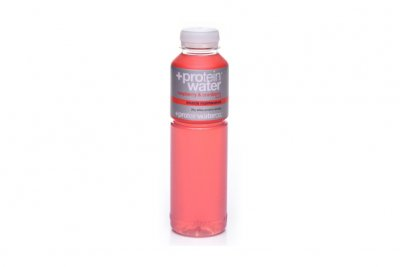 Protein water raspberry cranberry