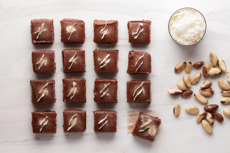 vegan, gluten/wheat free & sugar free brownie box